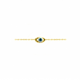 oeil eye eyes la boutique de loeil happy porte bonheur bracelet jewell jewellery