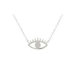 colllier oeil eye la boutique de loeil collier porte bonheur la boutique de l'oeil
