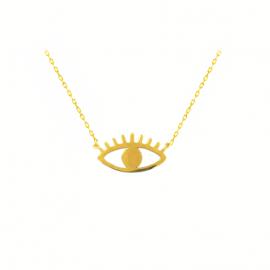 collier oeil eye mode la boutique de loeil