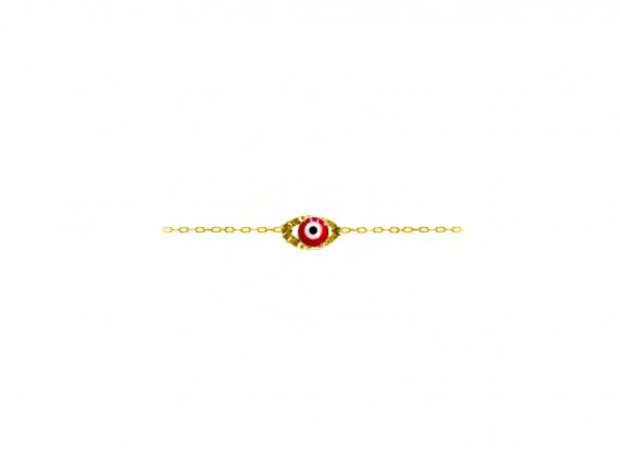 bracelet oeil eye eyes rouge la boutique de loeil